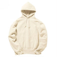 CAMBER PULLOVER HOODED (CROSS KNIT) - NATURAL