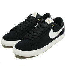 NIKE SB BLAZER LOW GT QS BLACK SAIL WHITE  716890-001