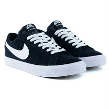 NIKE SB ZOOM BLAZER LOW -BLACK/WHITE