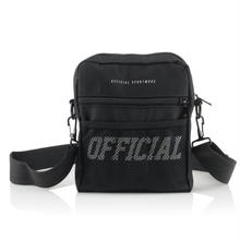 OFFICIAL MELROSE HIP UTILITY BAG - BLACK