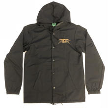 ANTI HERO  Stock Eagle Patch Windbreaker Jacket - Black