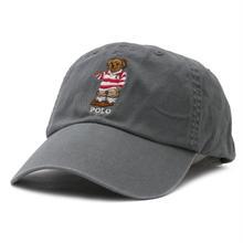 POLO RALPH LAUREN BEAR CAP - GREY