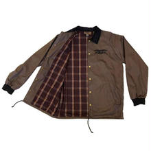 ANTI HERO  Basic Eagle Embroidered Speciality Coaches Jacket  - Brown