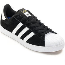 adidas skateboarding SUPERSTAR VULC ADV - BLACK/WHITE