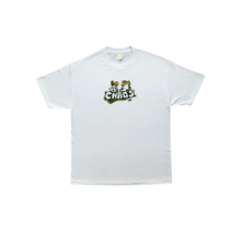 COME SUNDOWN CHAOS S/S POWDER TEE -WHITE