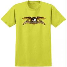 ANTI HERO EAGLE TEE - SAFETY GREEN
