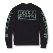 LIFE'S A BEACH Max Head All Sleeve - Black