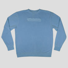 PASS~PORT ICY HOT PUFF PIGMENT SWEAT - BLUE
