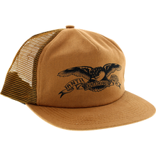 ANTI HERO BASIC EAGLE MESH HAT - BROWN