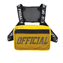 OFFICIAL MELROSE CHEST UTILITY BAG - YELLOW