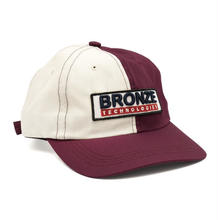 BRONZE BRONZE TECHNOLOGIES PATCH HAT OYSTER/BURGUNDY