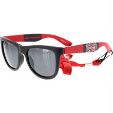 INDEPENDENT BANNER 80S SUNGLASSES - RED