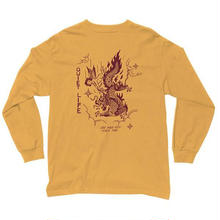 THE QUIET LIFE BRING ME DOWN LONG SLEEVE T-YELLOW