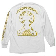 INDEPENDENT DRESSEN MONUMENT L/S TEE - WHITE