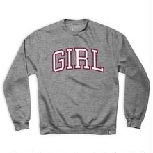 GIRL SKATEBOARDS ARCH CREW - GRAY