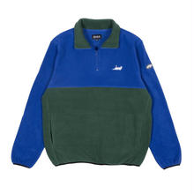 RIPNDIP Castanza 3/4 Zip Up (Navy / Hunter Green)
