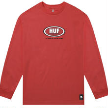 HUF × REAL REAL CUPS AND JUGS LONG SLEEVE - RED