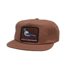 Anti Hero Pigeon Patch Snapback Hat - Brown