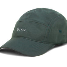 Dime 5 PANEL HAT Green with 3M Print