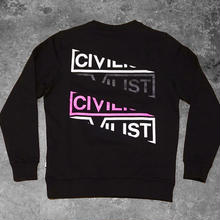 Civilist Sliced Block Crew – Black