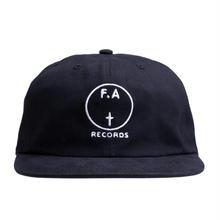 FUCKING AWESOME FA Records Hat -  Black/White