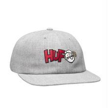 HUF x POPEYE 6 PANEL HAT - GREY
