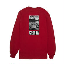 FUCKING AWESOME C'EST FA L/S Tee - Red