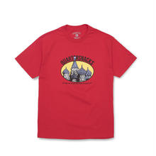 QUARTERSNACKS RUSSIA TEE - RED
