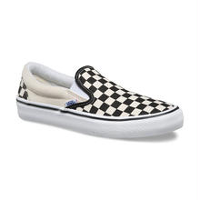 VANS SLIP-ON PRO - CHECKERBOARD BLACK/WHITE