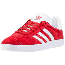 adidas GAZELLE Power Red / White / Gold Metallic (BB5486)