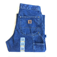 CARHARTT DOUBLE-FRONT DUNGAREE JEANS