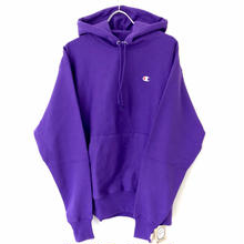 CHAMPION REVERSE WEAVE PULLOVER HOODIE - PURPLE