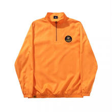 HELAS SOURCE QUARTER ZIP ORANGE