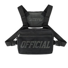 OFFICIAL MELROSE CHEST UTILITY BAG - BLACK