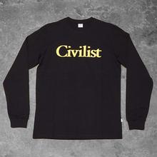 Civilist Drinking Longsleeve – Black