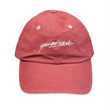 YARDSALE Script Hat Strawberry/Tan