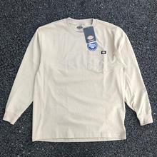 DICKIES Long Sleeve Heavyweight T-Shirt - Desert Khaki