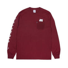 RIPNDIP Lord Nermal L/S (Burgundy)