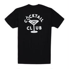 GOOD WORTH & CO Cocktail Club Tee - Black