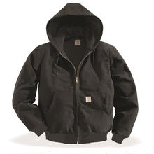 CARHARTT  J131 Cotton Duck Active Jacket-Black
