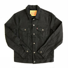 LEVIS DENIM TRUCKER JACKET - BLACK(0157)