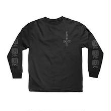 CHOCOLATE SKATEBOARDS DARKSIDE MICROCHIP L/S TEE -   BLACK