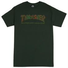 THRASHER DAVIS Tee-Green