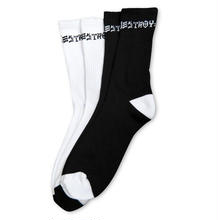 THRASHER Skate And Destroy Socks (Two Pairs per Pack)