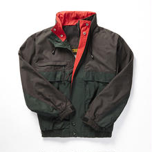 COBRACAPS TRI COLOR JACKET - BLK / GRN / RED