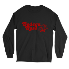 BODEGA ROSE LONG SLEEVE-BLACK