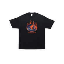 COME SUNDOWN COAL RICH S/S TEE - BLACK