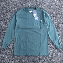 DICKIES Long Sleeve Heavyweight T-Shirt - Hunter Green