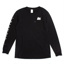 RIPNDIP Lord Nermal L/S (Black)