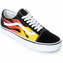 VANS Old Skool-Flame/Black/White